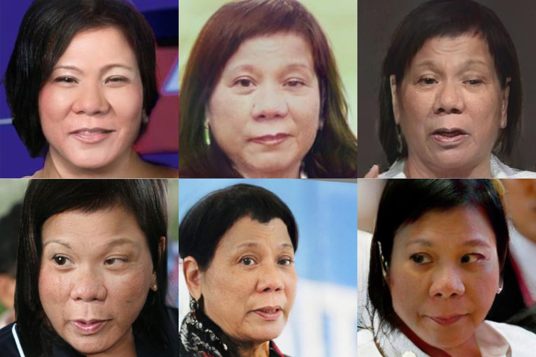 Duterte President - Woman