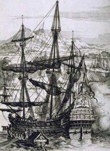 Spanish designed Galleon