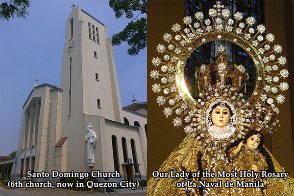 Sto Domingo Church and Our Lady