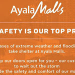 Typhoon Ompong Update: Ayala Malls Open Their Doors To The Public For Refuge