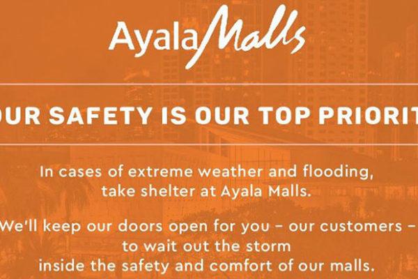 typhoon ompong and ayala malls