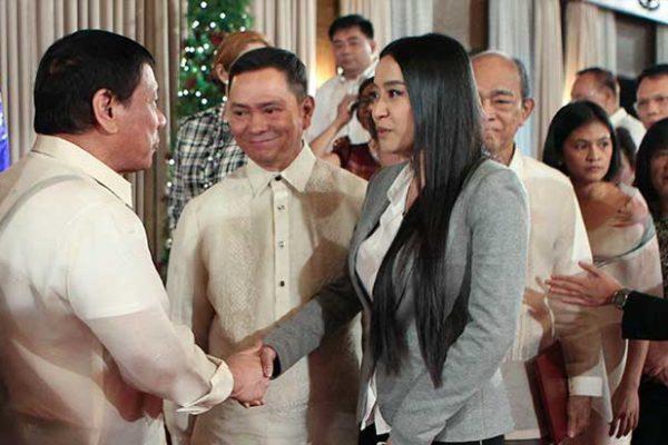 Mocha Uson meets Duterte