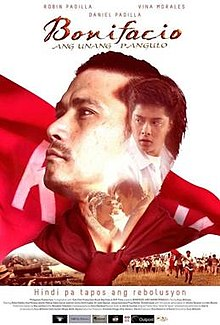 Bonifacio Ang Unang Pangulo (2014) Andres Bonifacio movie for Bonifacio Day