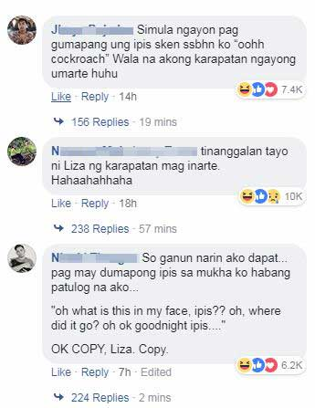 Comments- Liza Soberano Challenge with TechnoMarinePH