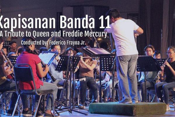 Kapisanan Banda 11 - A Tribute to Queen and Freddie Mercury