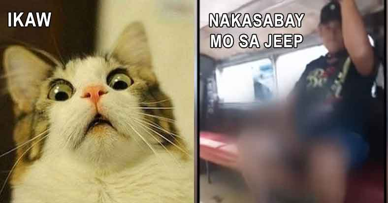 Mag ingat sa mga manyak na nakakasabay sa jeep - tagalog meme - pinoy meme