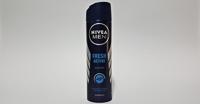 My Preferred Deodorant - Nivea Men's 'Fresh Active' - Men's deodorant