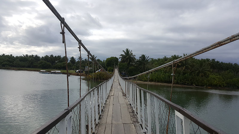 Sights of Aurora: The Heights of Ermita Hill and Baler Hanging Bridge