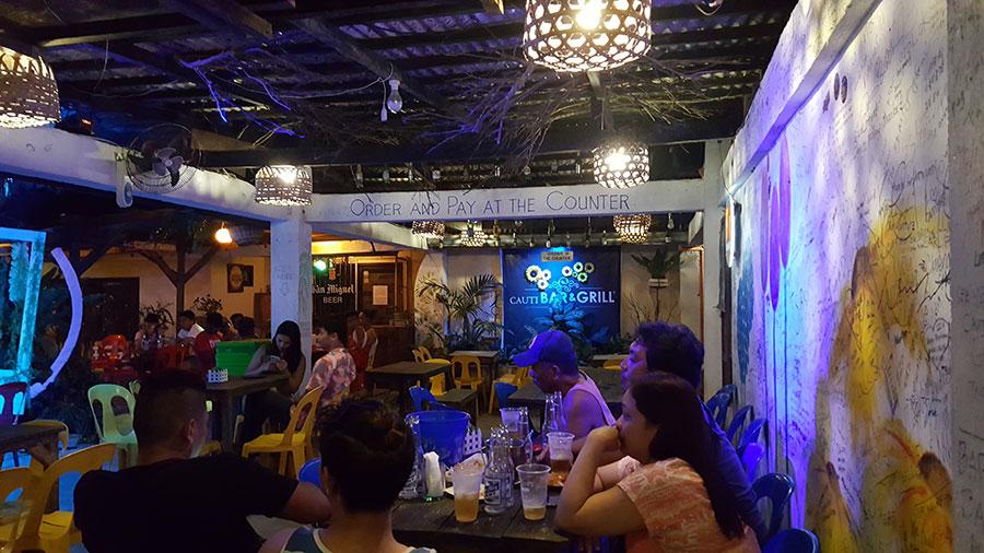 Cauti Bar & Grill - Sabang Beach Baler