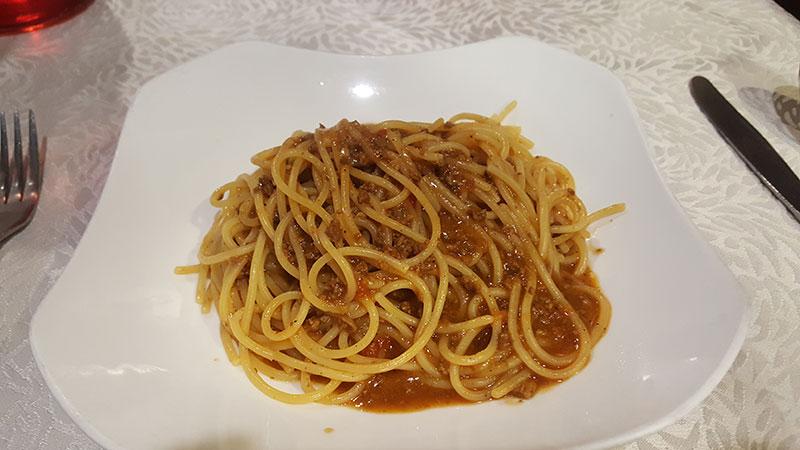 Bellini's Spaghetti Bolognese
